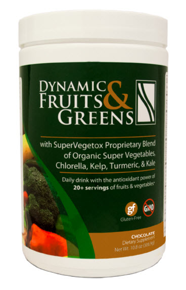 Dynamic Fruits and Greens - Chocolate
